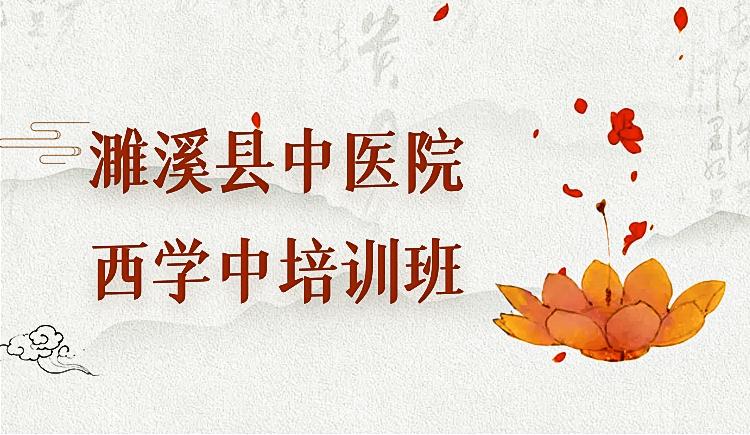 濉溪县中医院西学中培训班