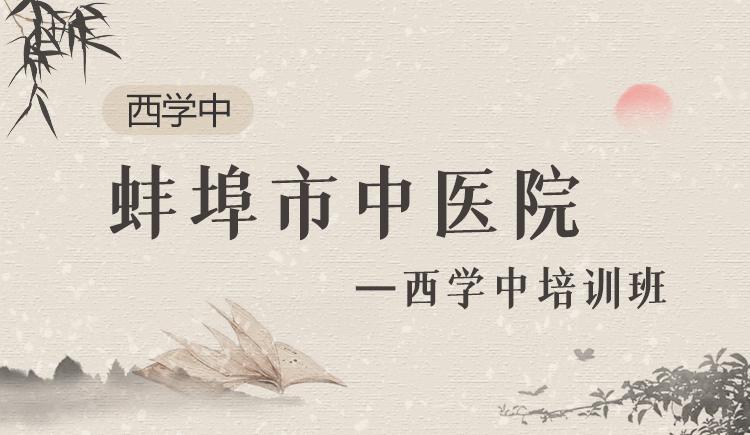 蚌埠市中医院西学中培训班