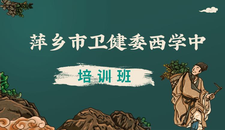萍乡市卫健委西学中培训班