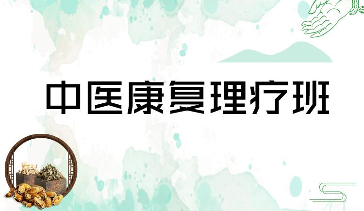 中医康复理疗班